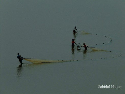 Drawing Fishing-nets