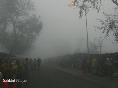 Moving Life /  Waking Street  by Sahidul haque