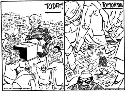 A Compilation Of R K Laxman S The Common Man Cafe
