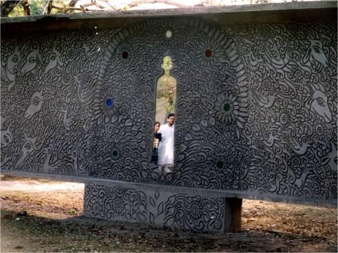 Cement_Relief__Santiniketan-_2001