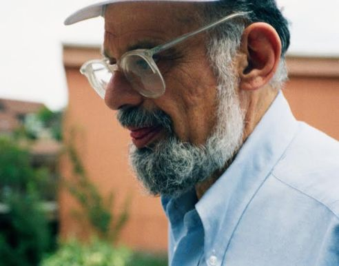 "Allen Ginsberg ""Last Interview"" Naropa University July 10th, 1994 Photo by Seth Brigham"