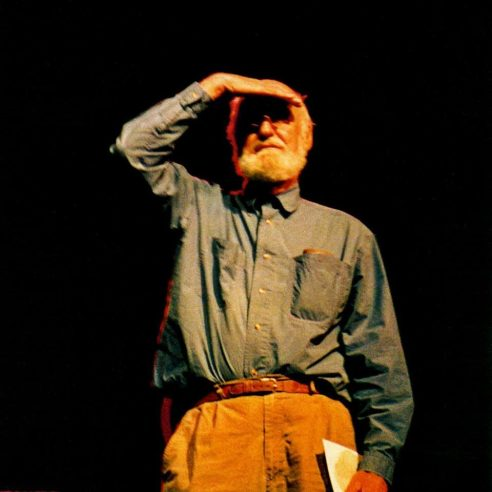Lawrence Ferlinghetti Is Anyone Out There? Boulder High School July 1994 Photo by Seth Brigham