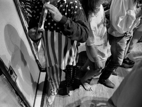 The Headless Pied Piper, Ken Kesey Boulder Theater July 4th, 1994 Photo by Seth Brigham