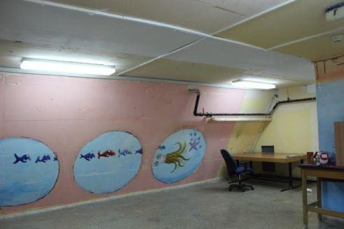 Inside a Bomb Shelter