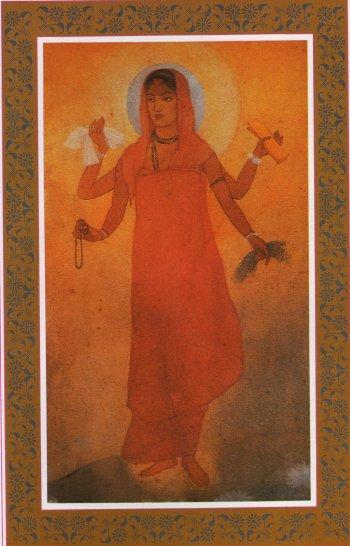 Bharat Mata, Abanindranath Tagore, Wiki commons