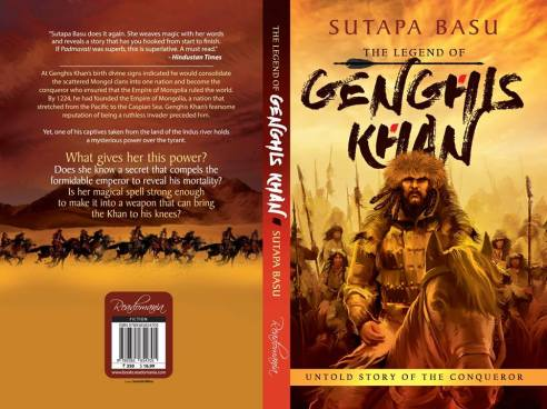 full cover of Genghis Khan