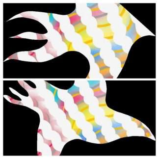 Fish and Bird Collage ADG